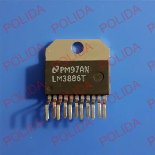 TO-220-11 LM3886T LM3886T//NOPB 1PCS Audio Power Amplifier IC NSC HZIP-11