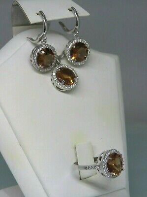 Turkish Handmade Jewelry 925 Sterling Silver Alexandrite Stone Women Earring Set  | eBay
