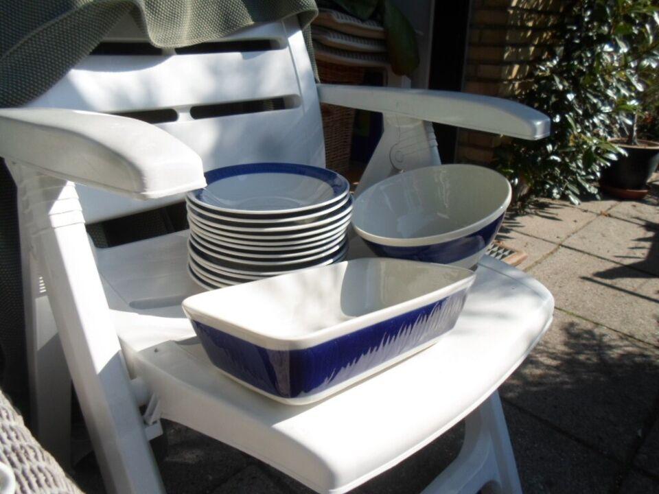 Porcelæn, Kopper,skåle,tallerkener m.m., Koka