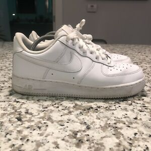 Nike-Air-Force-1-039-07-Size-8-5-Athletic-Shoes-White-315122-311-Men-Pre-Owned
