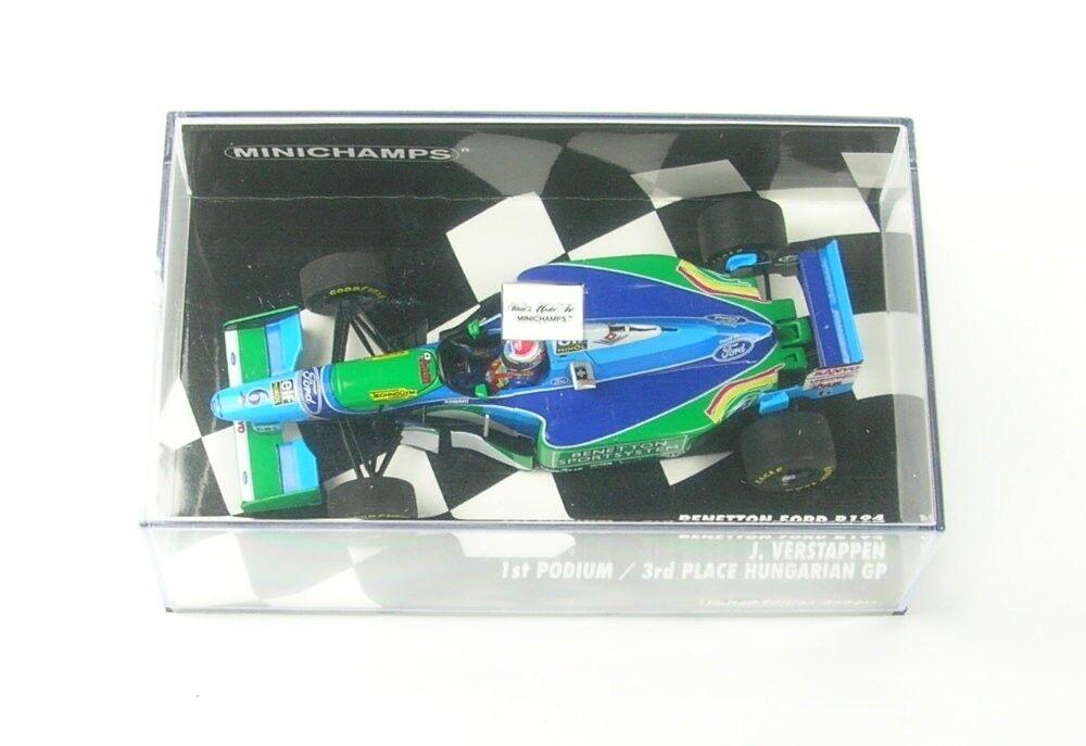 Benetton Ford B194 No.6 1st Podium 3rd Hungarian Gp Formula 1 1994 (Jos