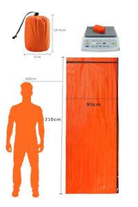 Emergency-Sleeping-Bag-Thermal-Waterproof-Reusable-Survival-Camping-Travel-Bag-L