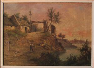 Ancient paintings Biedermeier Romantics 1. H. 19. JH.