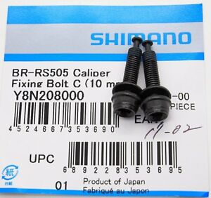 Shimano BR-R9170/R8070<wbr/>/RS805/RS505 Caliper Adapter Fixing Bolt C for 10mm Frame