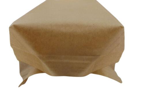 Food Grade Window Heat Seal Kraft Brown Paper Bags
