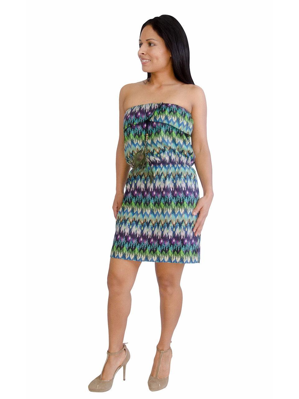 Dress - Peacock Feather Dress