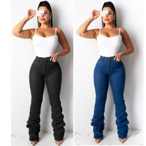 NEW Women Stylish Skinny/&Slim Long Jeans Casual Long Denim Trousers Pants Bottom
