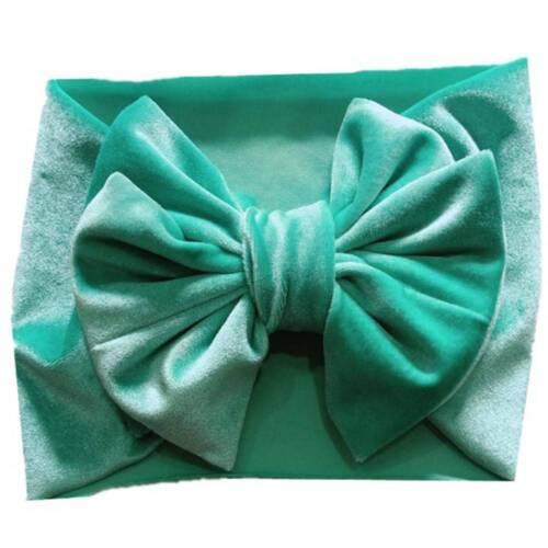 Toddler Girls Baby Big Bow Hairband Headband Stretch Turban Knot Head Wraps hot