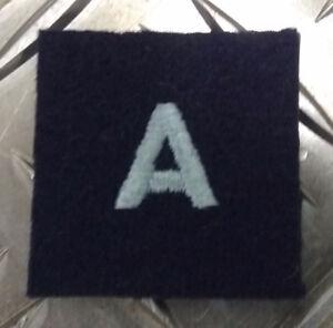 Genuine-British-Royal-Air-Force-RAF-Airmen-034-A-034-Arm-Badge-Patch-MOD-EPB54A