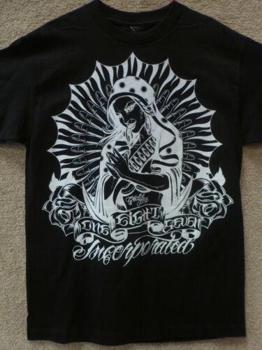 "187 Inc Men T-shirt /""Praying Mary/"" Color Black"