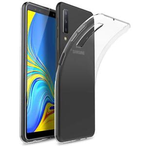 competitive price 2e34a b4daa Details about For Samsung Galaxy A7 2018 A750 Slim Crystal Clear Soft TPU  Case Cover hi