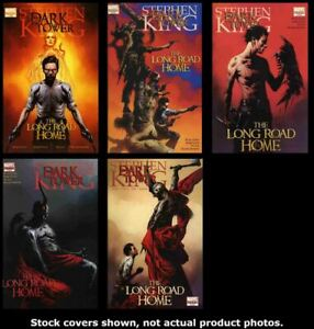 Dark-Tower-The-Long-Road-Home-1-2-3-4-5-Complete-Set-Run-Lot-1-5-VF-NM