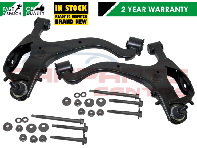 Land Rover Discovery 3 Front Lower Suspension Control Arms Wishbones /& Bolts Kit
