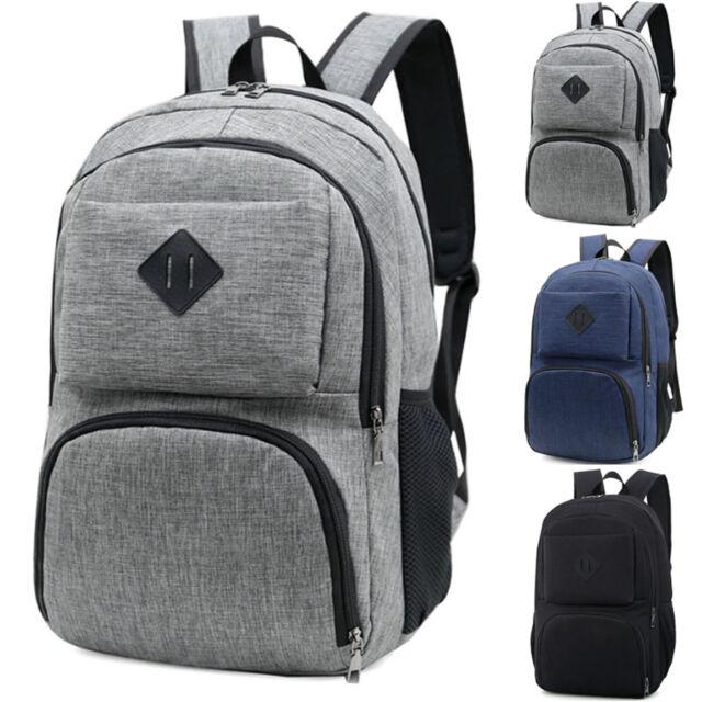 44c3875205e2 Anti-theft Men Women Backpack Laptop Rucksack Travel Outdoor USB Port  School Bag