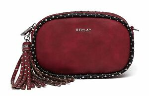 Bandoulière Red Replay leather À Sac Eco Bag Crossbody 0EnEOP