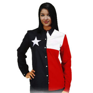 Ladies-Texas-Flag-Button-Up-Shirt-Rockpoint-Apparel
