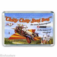 RETRO  CORGI TOY ARTWORK-  CHITTY CHITTY BANG BANG JUMBO FRIDGE MAGNET