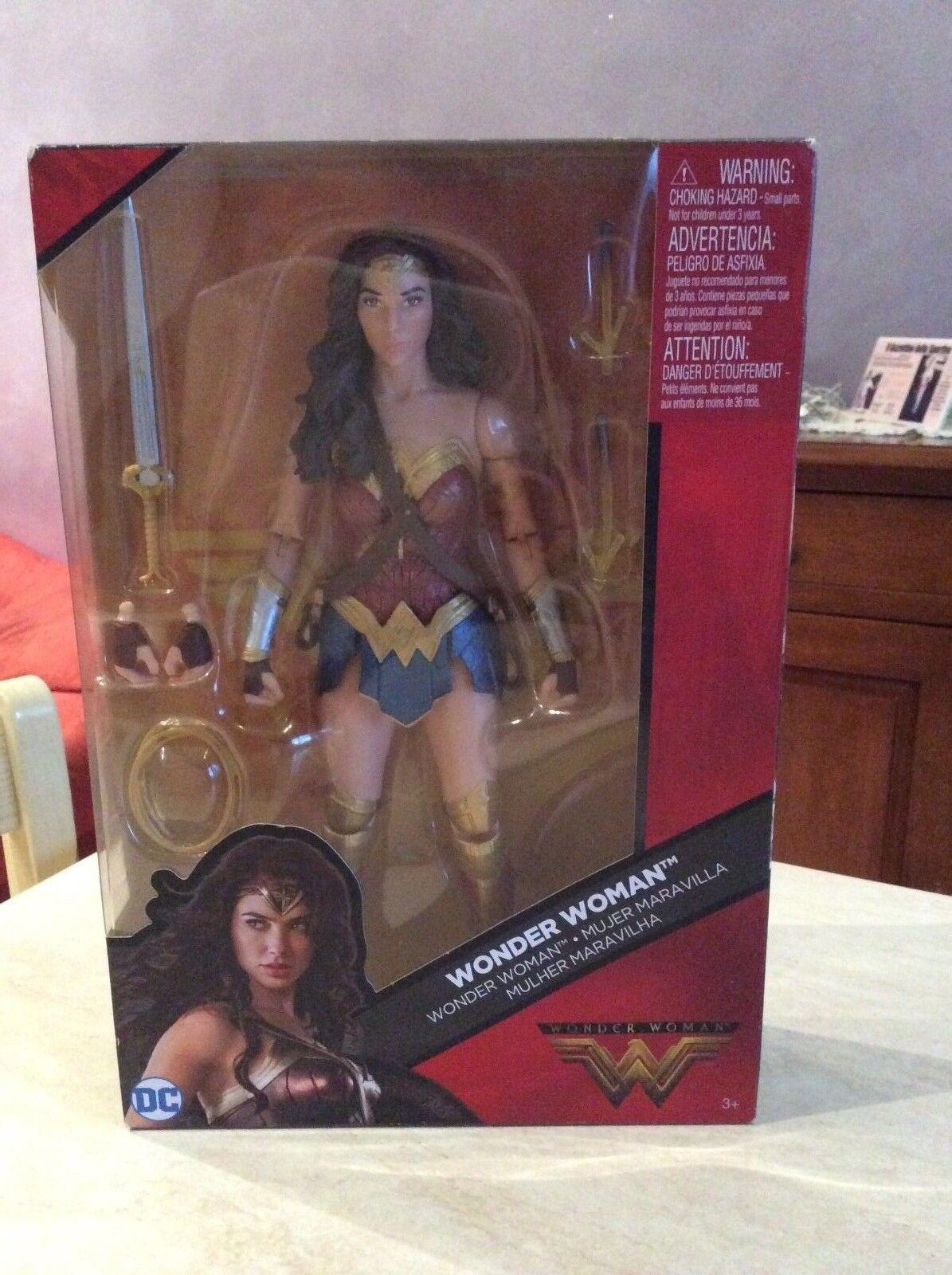 Rarissima action figure wonder woman mattel nuovo in box da da da collezione a82af8