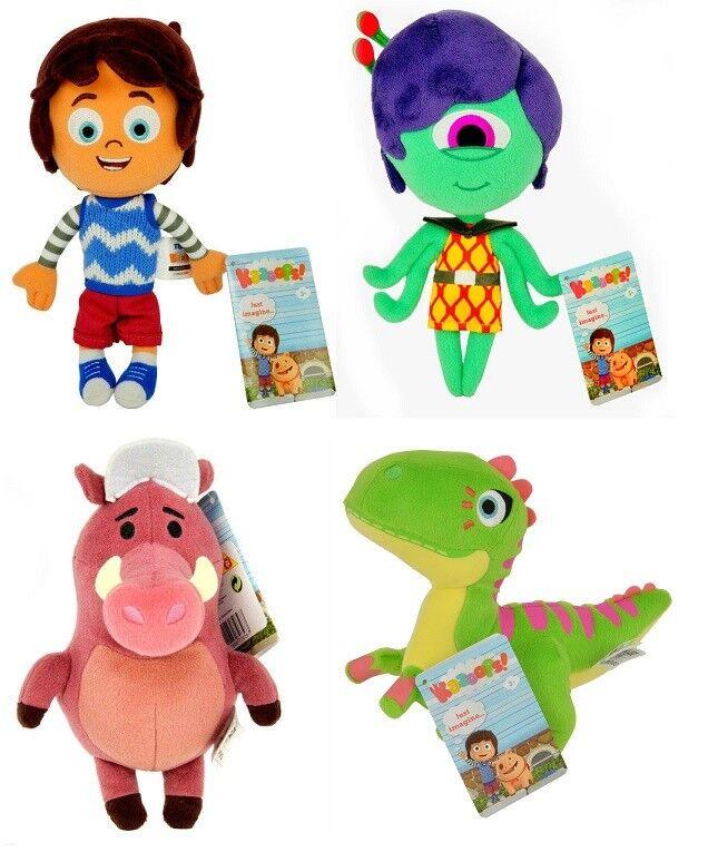Kazoops  Plush Soft Toy 20cm Otis Warthog Suzy Dinosaur TV HIT Kids