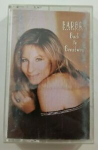 Barbra Striesand Back to Broadway Cassette Tape 1993 Columbia