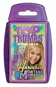 Top Trumps - Hannah Montana (Miley Cyrus)
