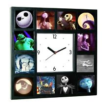 Limited Edition The Nightmare Before Christmas Glow In The Dark 12 Clock