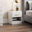 thumbnail 9 - Riano Hulio 1 2 3 Bedside Cabinet Chest Wood High Gloss Bedroom Storage Unit