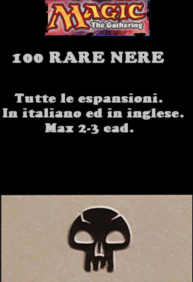 MAGIC LOTTO 100 RARE NERE