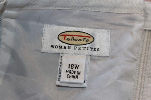 Elastic Gonna Ladies Donna ricamato Wais taglia Petites 18w Talbots wxvECqSv