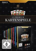 Pc The Royal Club 12 Premium Kartenspiele Skat,doppelkopf,schafkopf,poker,rommé,