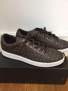DKNY Ladies Men Binna Trainers Sneakers