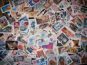 Commemoratives-US-100-DIFFERENT-Stamps-Used-Off-Paper-Plus-Bonus