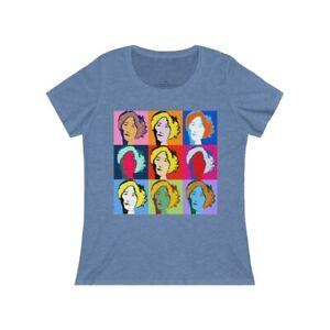 """Be Like Anne"" Women's Relaxed Jersey Short Sleeve Scoop Neck Tee"