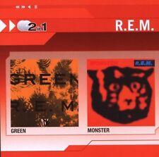 R.E.M - Green / Monster 2CD