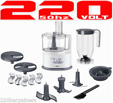 Braun FP5150 220 Volt Food Processor Powerful 1000W (NON-USA) 220V/240V 50Hz