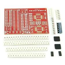 SMD SOLDERING PRACTICE PCB /& COMPONENTS 65MM X 55MM.