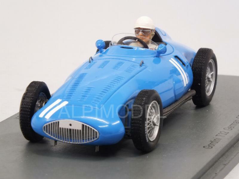Gordini T32 GP Germany 1956 Andre Milhoux 1 43 SPARK S5314