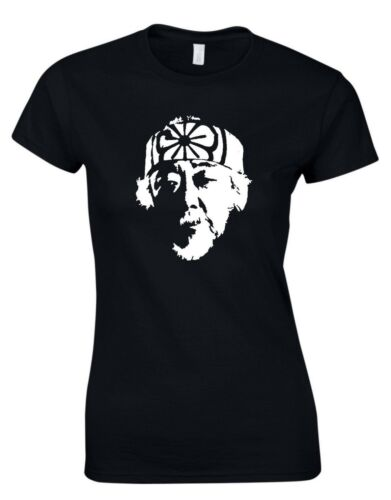 Mr Miyagi Karate Kid Inspired Cult 80s Movie Film WOMENS T SHIRT