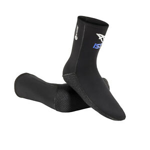 IST SK2 3mm Super Stretch Neoprene High-Cut Diving, Freediving Socks