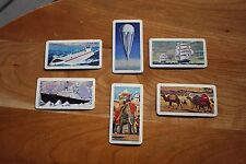 Brooke Bond Red Rose Tea Transportation Through The Ages Cards Series 10 - 1967
