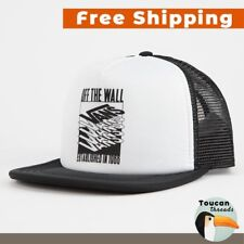 d0263c9bc4cd3 item 3 VANS Renwick Foam Logo Mesh Trucker Snapback Hat in Black and White  OSFA -VANS Renwick Foam Logo Mesh Trucker Snapback Hat in Black and White  OSFA