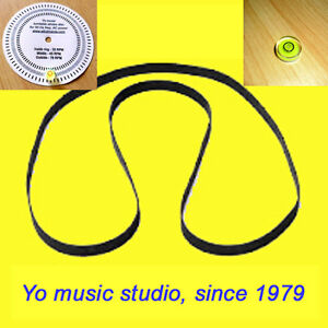 Turntable Belt for Sony HMK-313  PS-5550  PS-1000  PS-1010  PS-1800     T23