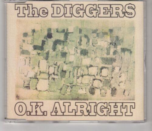 1 of 1 - (HI797) The Diggers, O.K. Alright - 1997 DJ CD