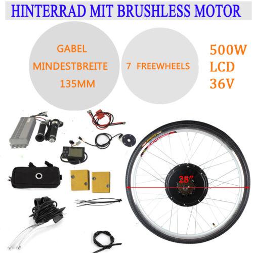 """E-Bike Conversion Kit 36V 500W 28/"""" Elektro-Fahrrad Motor Kit Umbausatz"""