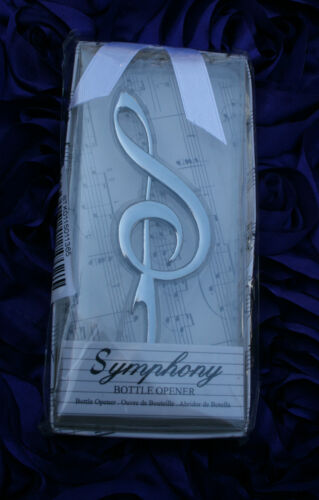 TREBLE CLEF BOTTLE OPENER MUSIC SYMPHONY CLASSICAL Gift Box Wedding,Anniversary