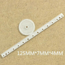 10pcs Gear Rack 05 Modulus Plastic Rack Pinion Drive Rod Diy Parts M4064 Ql