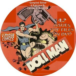 Details about DOLL MAN SUPER HERO VINTAGE COMIC BOOKS - 42 ISSUES - PDF  FILES ON DVD-SUPERHERO