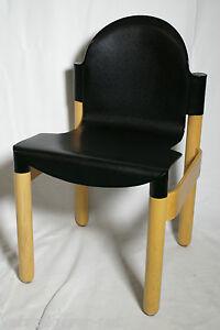 stapelstuhl thonet flex 2000 stapelbare st hle abwaschbar solide stapelst hle ebay. Black Bedroom Furniture Sets. Home Design Ideas
