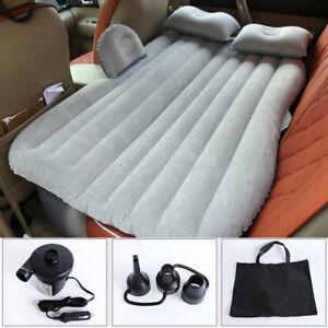 Cuscini Gonfiabili Per Auto.Floccaggio Sofa Materasso Letto Gonfiabile Airbed Per Auto Sedile