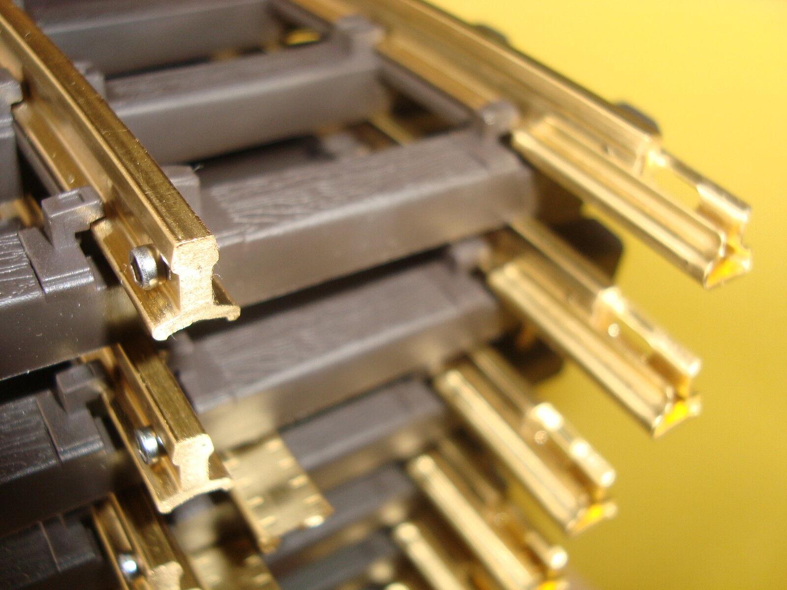 Bachmann G 94653 Nuevo Latón Macizo Rastrear para Exterior Uso 12 Secciones 1.2m